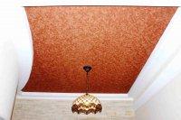Кабинет с кожаным потолком