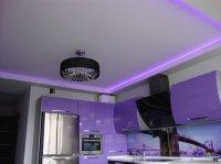 Матовый белый потолок для студии