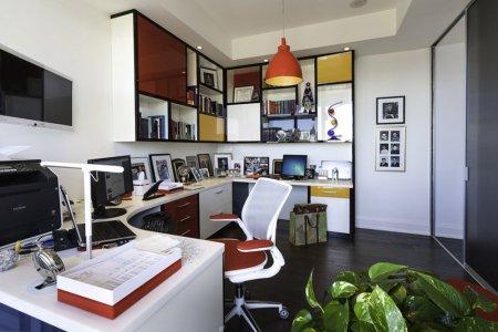Матовый натяжной потолок для кабинета