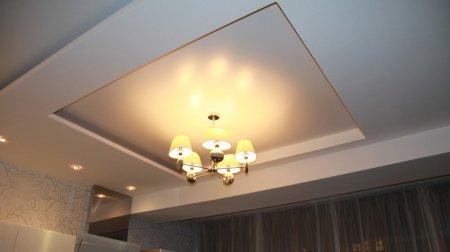 Матовый потолок в студии