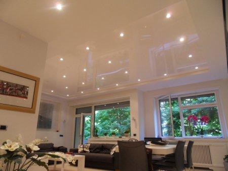 Многоуровневый потолок для студии