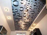 Натяжной потолок для кабинета с фотопечатью