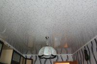 Натяжной потолок с фотопечатью (мрамор)