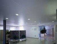 Офисное помещение с сатиновым потолком