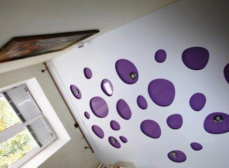 Перфорированный потолок для кухни
