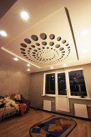 Перфорированный потолок в спальне
