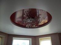 Сатиновый натяжной потолок для студии